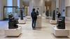 Gudea gallery, Louvre (profzucker) Tags: gudea neosumerian uriii girsu telloh mesopotamia architect ningirsu ane ancient neareast sculpture art arthistory louvre diorite