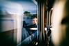 Passagère du Paris Bordeaux (Calinore) Tags: tgv train passagere passenger woman femme dream reve transport transportation speed vitesse france