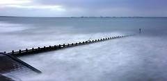30 Seconds at Aberdeen Beach (PeskyMesky) Tags: aberdeen aberdeenbeach longexposure le landscape water sea ocean groyne scotland flickr