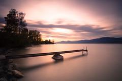 A Font (prenzlauerberg) Tags: 2017 lac lacdeneuchâtel lake eau ciel font ponton arbre nuage 1835 suisse schweiz switzerland nikon