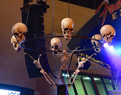Happy Halloween! (BKHagar *Kim*) Tags: bkhagar lasvegas nv nevada halloween music concert alterigor rock metal skull skulls spooky monster monsters stage smoke crowd people fremontstreet oldlasvegas
