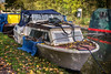 Unloved (bart7jw) Tags: canal boat cruiser autumn fall leaves canon 700d t5i sigma 18250