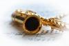 She will have music.... (Ptolemy the Cat) Tags: macromondays memberschoicemusicalinstrument saxophone miniature pendant jewellery jewelry music nikond600 tamronf2890mmmacrolens vignette stilllife