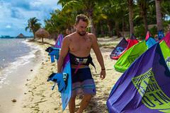 Kitesurfing Cancun