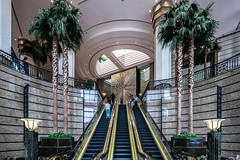 Welcome to Central Plaza - Hongkong 71/188 (*Capture the Moment*) Tags: 2017 architecture architektur escalator hongkong lobby luxury luxus rolltreppen sonya7m2 sonya7mii sonya7mark2 sonya7ii sonyfe1635mmf4zaoss sonyfe41635 sonyilce7m2