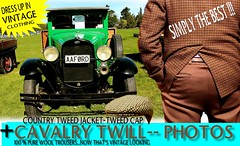 Tweed Cavalry Twiil Best  part 1 (Tweed Jacket + Cavalry Twill Trousers = Perfect) Tags: old vintage retro oldschool rally show car cars auto autos vehicles tweedjacket tweedcap cavalrytwilltrousers mens gents dapper wool woolen nz kiwi newzealand british uk scottish distingushedgentlemensride thetweedrun carclub carshow carrally houndstooth fashion 1950s 50s 1960s 60s 1970s 70s 1980s 80s auckland whangarei tauranga rotorua gisborne hastings napier hamilton newplymouth plamerstonnorth wellington nelson christchurch dunedin invercargill canon outdoor ford aa hop