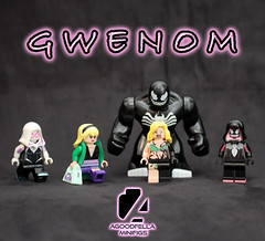 Gwenom: The Evolution 😱 [MOC] [A DAY IN THE LIFE] (agoodfella minifigs) Tags: lego marvel marvellego legomarvel minifigures marvelcomics comics heroes gwenstacy spidergwen venom gwenom spiderman