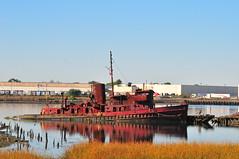 Tugboat Graveyard (Triborough) Tags: ny nyc newyork newyorkcity richmondcounty statenisland rossville staten island tugboat graveyard