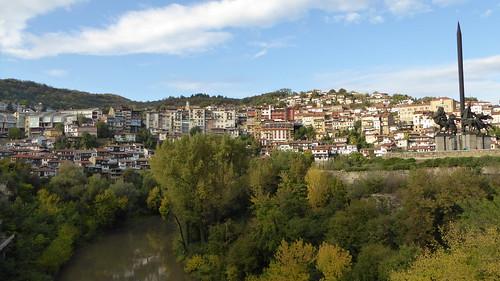 velico tarnovo and the river yantra
