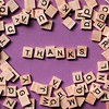 24 million views! (brescia, italy) (bloodybee) Tags: thank letters scrabble tiles stilllife pink wooden alphabet play game