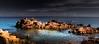 A Bay for your Mind (Beppe Rijs) Tags: sardinien landscape light nature sardegna sardinia italien italy sun sonne coast coastline mediterraneansea mittelmeer water bay blue orange mind play atmosphere rock myphoto