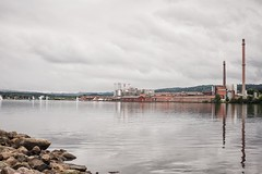 Industries (BlossomField) Tags: cityview lake water jönköping schweden swe