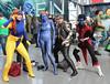 New York Comic Con 2017 - X-Men (Rich.S.) Tags: new york comic con convention nycc 2017 nyc cosplay mystique beast quicksilver nightcrawler cyclops xmen marvel comics