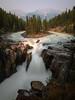 Sunwapta falls (Arun Sundar) Tags: sunwapta falls waterfalls canada rockies nature beautiful mountains hills colors