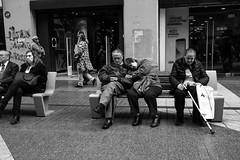 Personas (andresinho72) Tags: blackandwhite biancoenero monocromo monochrome blancoynegro street streetphoto callejera calle persona personas gente persone people chile santiago composition streetphotography explore shadows urban human candid candidphotography city urbanphotography bw mono zwartwit stad life outdoors straatfotografie straat schwarz weiss monochrom