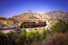 BNSF 6722 near Route 66 - California - USA (R.Smrekar-CH) Tags: route66 railroad railway california 000100 d750 smrekar usa