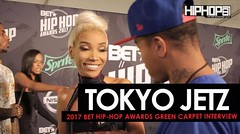 Tokyo Jetz Talks The 2017 BET Cypher, Hustle Gang's 'We Want Smoke' Album, Her Upcoming Project & More on the 2017 BET Hip-Hop Awards Green Carpet (Video) (nhhms.info) Tags: news videos hiphop hhs1987 exclusives hhs87 tokyo jetz hustle gang women miami danny digital terrell thomas jacksonville