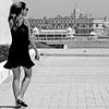 La Belle de Cadix - 3 (pom.angers) Tags: canoneos400ddigital 2017 april spain andalusia cadiz europeanunion woman girl sea beach 100 200 300 400 5000 500