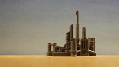 Sci-Fi City (MCLegoboy) Tags: lego scifi city skyline desert moc myowncreation