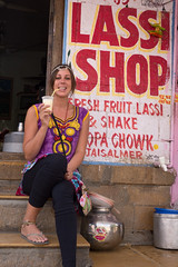 Rajasthan - Jaisalmer - Bhang lassi shop people-6