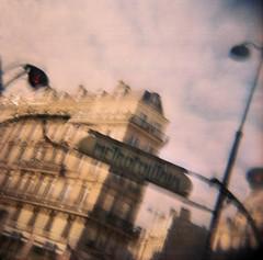 (Benedetta Falugi) Tags: film filmisnotdead filmphotography portra160iso paris metropolitan buildings sky analog analogue analogphotography analogic beliveinfilm benedetafalugi 120mm istillshootfilm ishootfilm diana lomo toycam believeinfilm