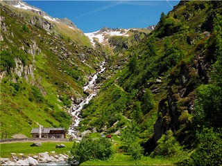The Ahrntal valley in South Tyrol - the valley head