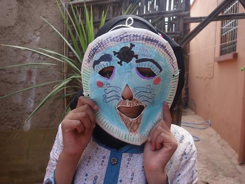 """Un masque : """" Bilmawn"""" (4)"""