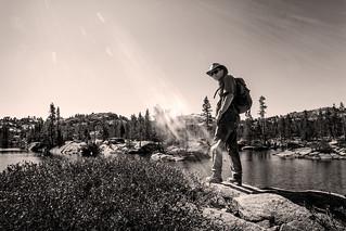 Bob at Spider Lake _1785