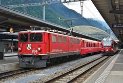 Chur 10.08.2017 (The STB) Tags: rhb rhätischebahn viafierretica rhaetianrailways swissrailways narrowgauge schmalspurbahn railway bahn eisenbahn zug train