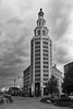 The (General) Electric Tower (Canadian Pacific) Tags: buffalo usa us america american city newyork downtown center centre building architecture 2017aimg3320bw