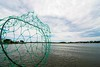 A net and the sky (matthewdelgado1) Tags: net sea ocean sky blue water clouds