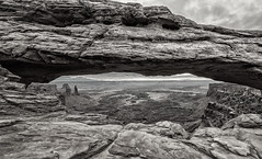 Mesa Arch, Utah (Rod Heywood) Tags: mesaarch islandinthesky canyonlandsnationalpark canyonlands iconic scenic landscape rugged rock desert utah arch cliff rockformation southwest moab sandstone redrock cloudy