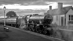MRC2017-55 (Dreaming of Steam) Tags: 46203 heritage heritagerailways lms midlandrailwaycentre princessmargaretrose princessroyalclass railway stainer steam steamengine train vintage engine locomotive railroad smoke steamlocomotive
