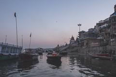 Varanasi - Ganges River - boat ghats-12