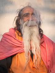 Rajasthan - Pushkar - Outskirts Holy Man-4