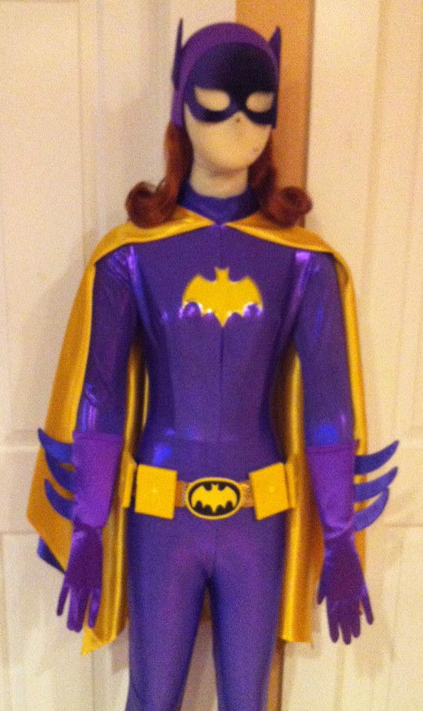 Purple Batgirl Costume Kids