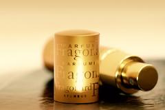 Perfumed souvenir (victoriameyo) Tags: macromondays souvenir perfume fragrance fragonard golden light paris