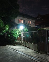 outside light, bedroom light (the foreign photographer - ฝรั่งถ่) Tags: outside light bedroom our street bangkhen bangkok thailand canon