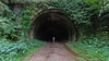 Naughty By Nature (WaysBcn) Tags: tunnel engaña dark free nature explore green waysbcn tunel forest
