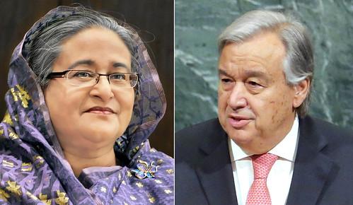22-10-17-UN Secretary General Made the Phone Call_PM Sheikh Hasina-1