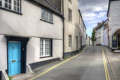 Old cottages, Coombe Street, Lyme Regis (Baz Richardson (trying to catch up again)) Tags: dorset lymeregis coombestreet streetscenes narrowstreets