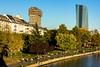 Altweibersommer nutzen (S. Ruehlow) Tags: frankfurt main schöneaussicht europäischezentralbank ezb altweibersommer indiansummer