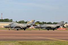 Hellanic Air Force F-4E Phantoms at Fairford EGVA 17/07/17 (IOM Aviation Photography) Tags: hellanic air force f4e phantoms fairford egva 170717