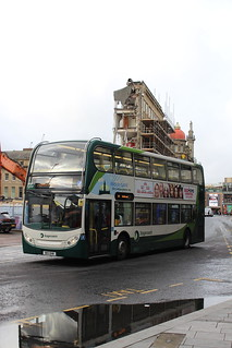 STAGECOACH 12071 NK11DHM IS SEEN IN NEWCASTLE ON 21 OCTOBER 2017