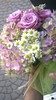 a beautiful bouquet of flowers (Mara Miao) Tags: flowers lilac rose margherita green bow cammilla chamomile romantico dolce sweet romantic love friend friends forever freiends amiche amore lilla fiocco regalo pensiero thought