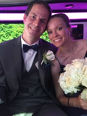 """Derek and Christie in the Limo at Emily and Joe's Wedding • <a style=""""font-size:0.8em;"""" href=""""http://www.flickr.com/photos/109120354@N07/37900127336/"""" target=""""_blank"""">View on Flickr</a>"""