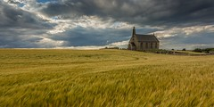 Boarhills Church (Chris_Hoskins) Tags: eastneukoffife wwwexpressionsofscotlandcom fife scotland centralscotland church boarhillschurch scottishlandscape churchofscotland countrychurch scottishlandscapephotography landscape
