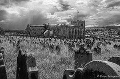 St Mary's Church Whitby (daveseargeant) Tags: whitby north yorkshire seaside beach st marys church monochrome leica x typ 113
