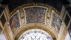 Arch above Contarelli Chapel