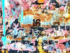 16 (LUMEN SCRIPT) Tags: door rust derelict abandoned urbex dwwg abstract abstrait creation creative selective perspective trend art artistic figurative tones minimalism minimalist less non nonfigurative abstraction vivid colour color